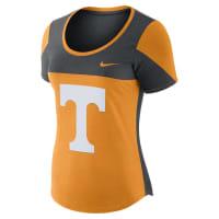 NikeCollege Scoop (Tennessee) Womens T-Shirt Size Medium (Orange)