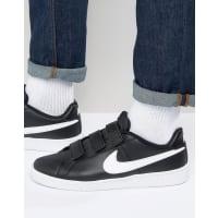 NikeCourt Royale Sneakers In Black 844798-010 - Black