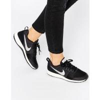 NikeElite Shinsen Black & Silver Sneakers - Black