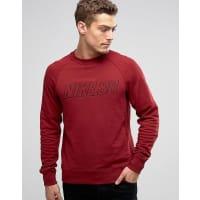 NikeEverett - Sweatshirt mit Rundhalsausschnitt in Rot 800139-677 - Rot