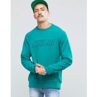 NikeEverett Reveal - Rundhals-Sweatshirt in Blau, 800139-351 - Blau