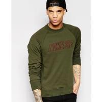 NikeEverett Reveal - Sweatshirt mit Rundhalsausschnitt in Grün, 800139-325 - Grün
