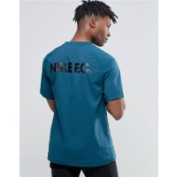 NikeFC Heavyweight T-Shirt With Shoulder Zip In Blue 802417-346 - Blue