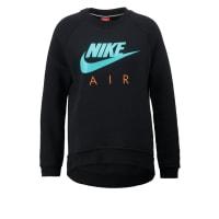 NikeSweatshirt black/black/hyper jade
