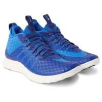 NikeFree Hypervenom 2 Fs Coated Mesh Sneakers - Bright blue