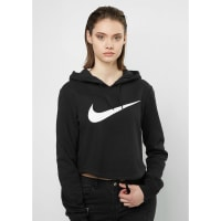 NikeHooded-Sweatshirt Sportswear black/black/white