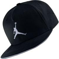 NikeJumpman Perforated Snapbacks Snapback schwarz schwarz