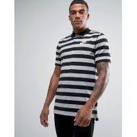 NikeMatchup Striped Polo In Grey 832881-011 - Grey