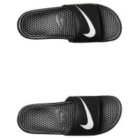 NikeMens Benassi Swoosh Slide Black