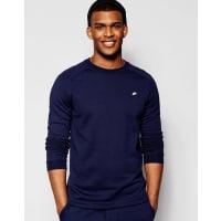 NikeModisches Sweatshirt mit Rundhalsausschnitt in Blau, 805126-451 - Blau