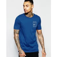 NikeNk Court T-Shirt In Blue 836064-423 - Blue
