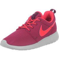 NikeRoshe One W Schuhe weinrot neon grau