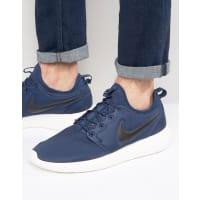 NikeRoshe Two Sneakers In Blue 844656-400 - Blue