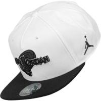 NikeSpace Jam Snapback blanco negro