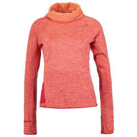 NikeSPHERE ELEMENT Topper langermet turf orange/heather/university red