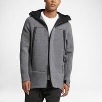 NikeSportswear Tech Fleece Mens Parka Size Medium (Grey)