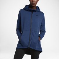 NikeSportswear Tech Fleece Womens Cape Size Small (Blue)