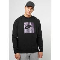NikeSweatshirt Crew Fleece Air HRTG black