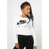 NikeSweatshirt Mordern Crew Crop Air white/white/black/black