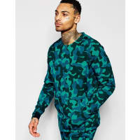 NikeBlaues Sweatshirt aus Tech-Strick, 823501-301 - Blau