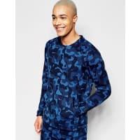 NikeBlaues Sweatshirt aus Tech-Strick, 823501-480 - Blau
