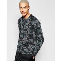 NikeSweatshirt aus Fleecestoff in Grau, 823501-021 - Grau