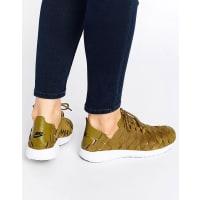 NikeWoven Juvenate Sneakers In Khaki - Green