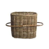 NkukuRattan Oval Basket