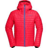 NorrønaMs Falketind Primaloft100 Hood Jacket Rebel Red M Syntetiske jakker