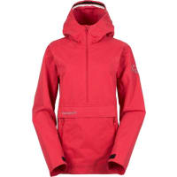 NorrønaWs Svalbard Cotton Anorak Fade To Red M Vardagsjackor