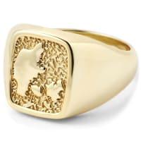Northern JewelryDansk Tribut i Guld 925s Ring