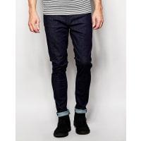 Nudie JeansPipe Led Super Skinny Fit Dry Dark Navy - Dry dark navy