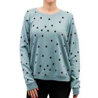 NümphNümph Damen Sweatshirt Nikolisa, Grün (Slate Slate), Large