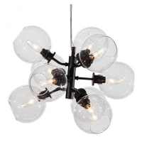 NUEVODalton 9 Pendant Lamp, Clear