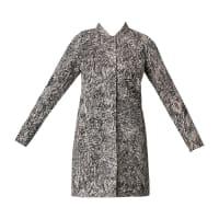 Nümph3/4-lange Mäntel - 7216900 minova jacket - Weiß / Naturfarben