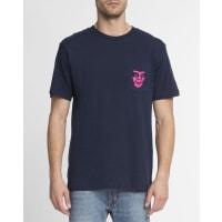 ObeyT-shirt Borstzak Print The Creeper BlauwOBEY - T-shirt Borstzak Print The Creeper Blauw