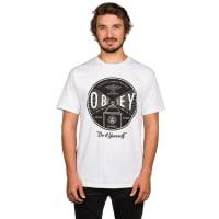 ObeyUnder Pressure T-Shirt white / wit