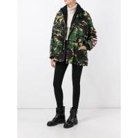 Off-whitecamouflage print jacket, Womens, Size: XXS, Green