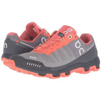 OnCloudventure (Grey/Lava) Womens Running Shoes