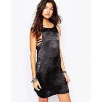 One TeaspoonVelvet Love Dress - Black