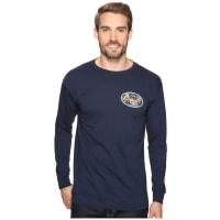 O'NeillBackyard Long Sleeve Screen Tee Imprint (Navy) Mens T Shirt