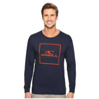 O'NeillBoxed Long Sleeve Tee (Navy) Mens T Shirt