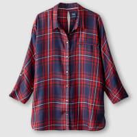 OnlyGeruite blouse, ¾ vleermuismouwen, JUNE