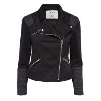 OnlyKurze Biker- Jacke, schwarz, Black