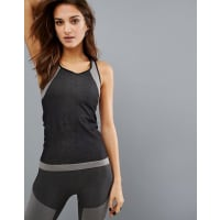 Only PlaySports Seamless Tank - Smoked pearl