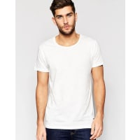 Only & SonsScoop Neck T-Shirt - White