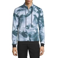 Opening CeremonyMotion College Zip-Front Pullover, Black/Multi