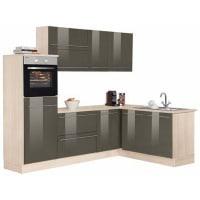 OptifitWinkelküche mit E-Geräten »Bern«, Stellbreite 255 x 175 cm