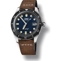 OrisArtelier Stainless Steel Watch, Mens, Blue