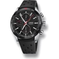 OrisArtix GT Stainless Steel Chronograph Watch, Womens, Black